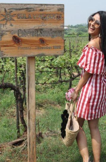 destination ideas for a bachelorette party   blogger shreya kalra enjoying her bachlorette in Sula