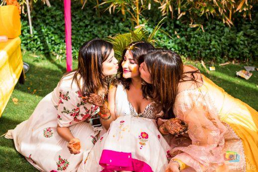i love my bff's | Bridal Lehenga Designed by the Bride