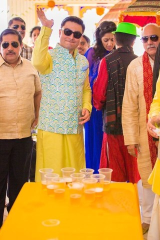 beer pong at an indian wedding | wittyvows | games at destination indian wedding