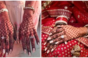 mehendi designs for indian brides , ring designs