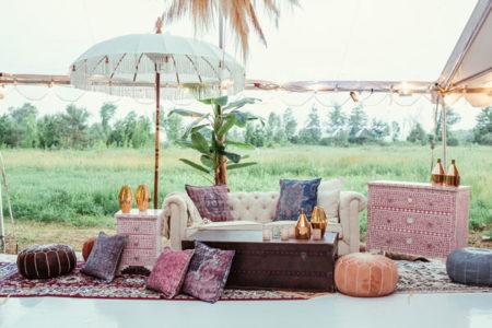 mani jassal's engagement decor | vintage decor this wedding season 2020