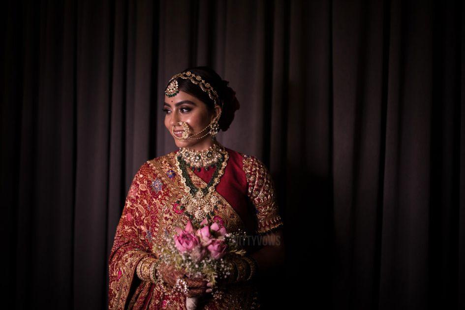 bridal portraits | hiral khatri at her wedding ceremony