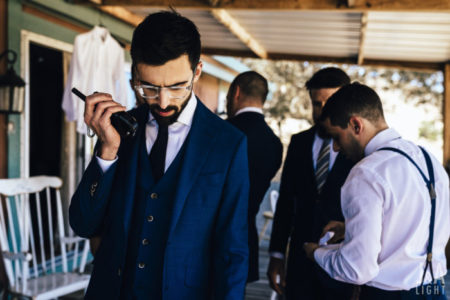 walky talky | indian groomsem at wedding | boys at duty