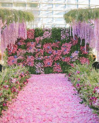 beautiful pink wedding decor | Wedding Planning Checklists