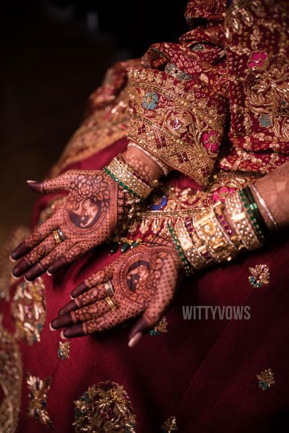 stunning  bridal henna hands