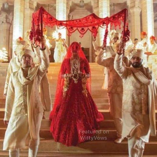 PriyankA Chopra's Wedding entry | stunning wedding entry ideas