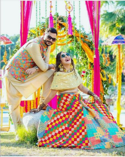 INDIAN WEDDING MEHENDI OUTFITS FOR 2020 WEDDINGS #WITTYVOWS