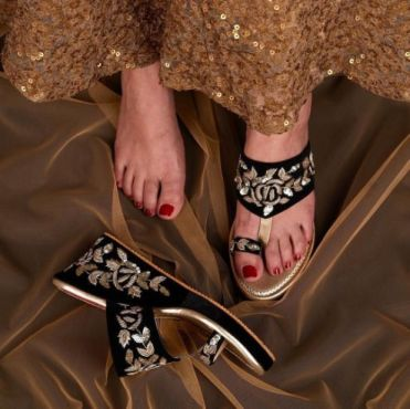 Wedding Shoes | Wedges for Indian Bride