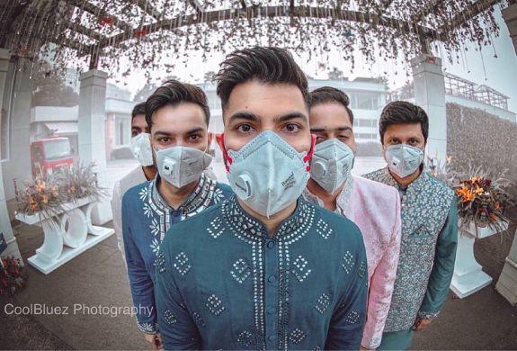 Effect of Corona Virus on Weddings | use masks
