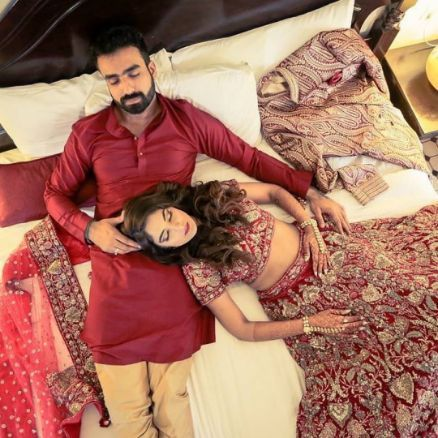 Indian couple tired and finally catching some sleep | Wedding Night Reality