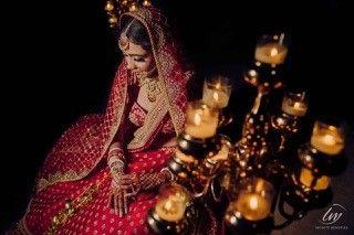 bridal photoshoot idea
