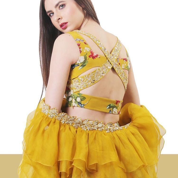 indian blouse designs | back blouse design