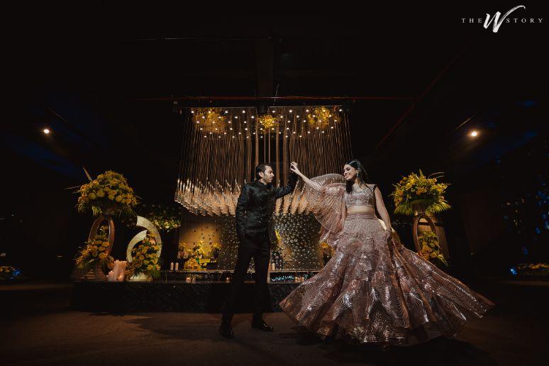 indian couple dancing | Destination Wedding in Jaipur