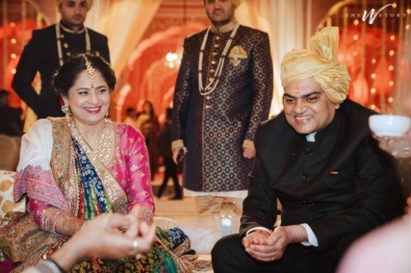parents of the bride | indian wedding