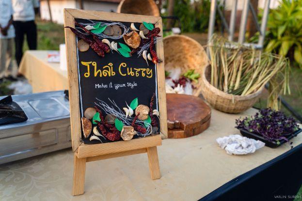 food menu sign board ideas | wedding in Kerala