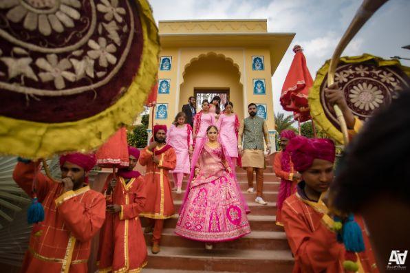 bridal entry ideas | indian weddings