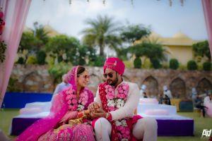 Indian couple wedding diaries
