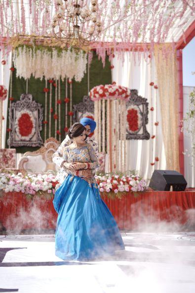 couple dance at indian wedding | Surprise Proposal