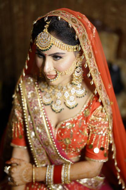 indian bridal makeup | beautiful wedding jewellery | wedding with a Surprise Proposal