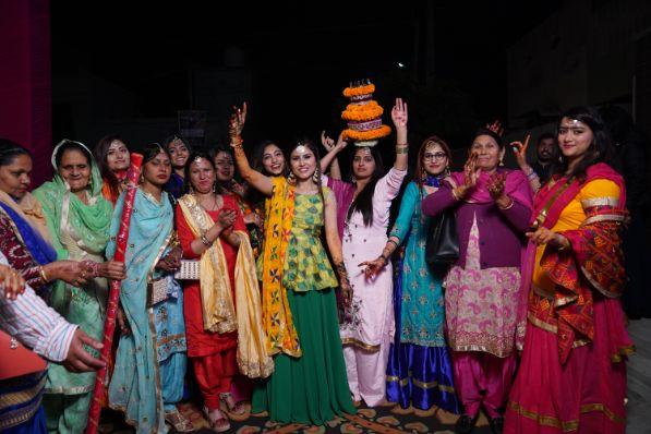 jaago night | indian wedding