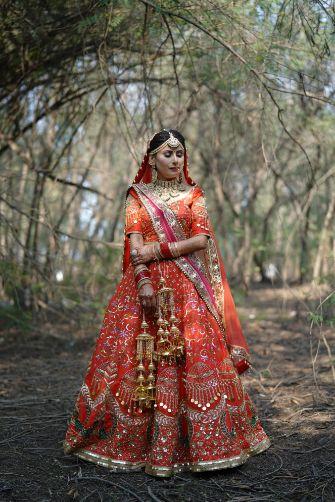 sikh bride | bridal photoshoot idaes | Surprise Proposal