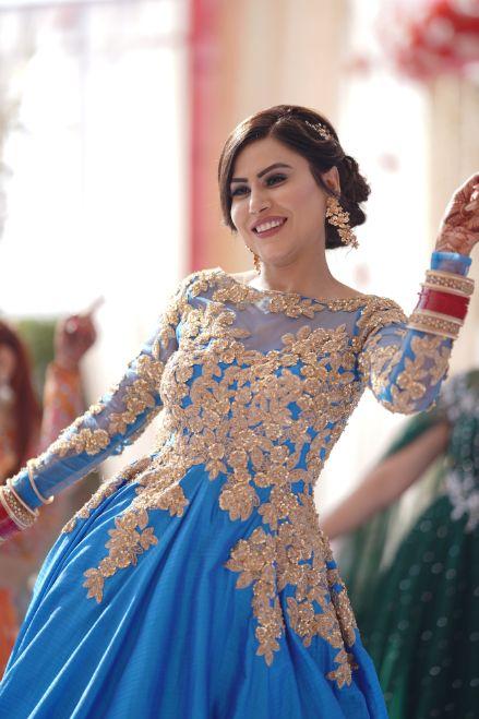 dancing bride | indian wedding