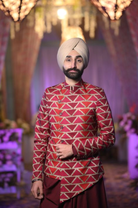 indian groom | jaago night