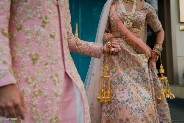 bride and groom candid clicks   Jaipur Wedding
