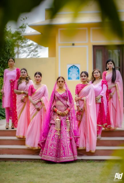 bridesmaid dressed | coordinated outfits | Fab Matching Outfit Ideas
