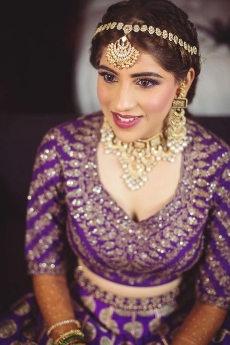 indian bridal photo shoot