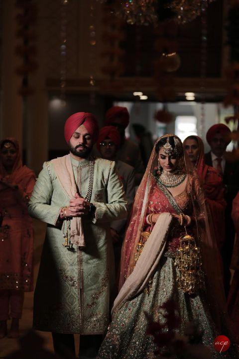 sikh ciuple | sikh wedding | anand karaj ceremony