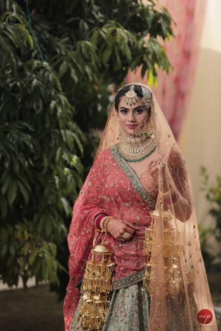 sikh bride   beautiful kaleera   indian bridal jewellery