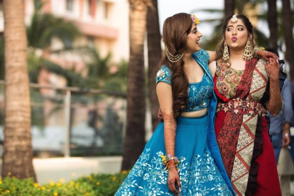 pout and smile | indian wedding photography