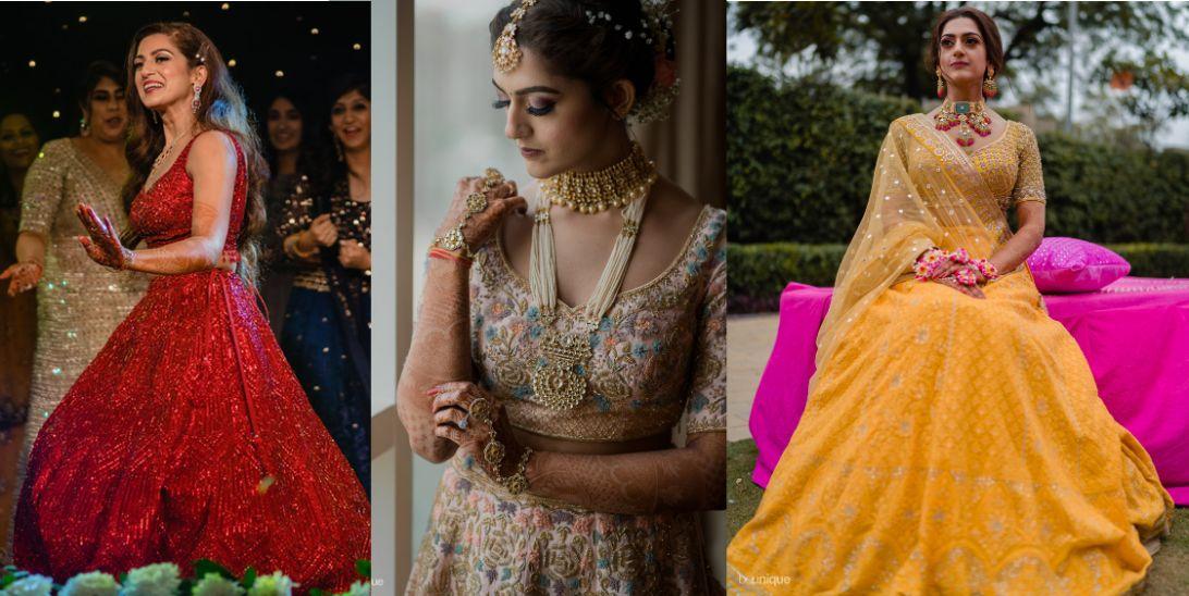 blogger bfride Sonam Bhatia's Jaipur Wedding