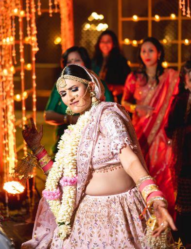 happy indian bride | Fun Jaipur Wedding