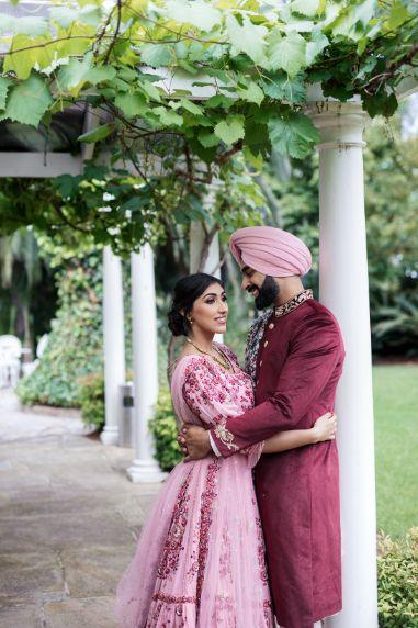 sikh couple   indian wedding photography