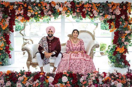 beautiful indian sikh couple