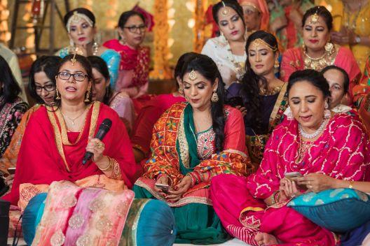 sangeet ceremony | shy bride