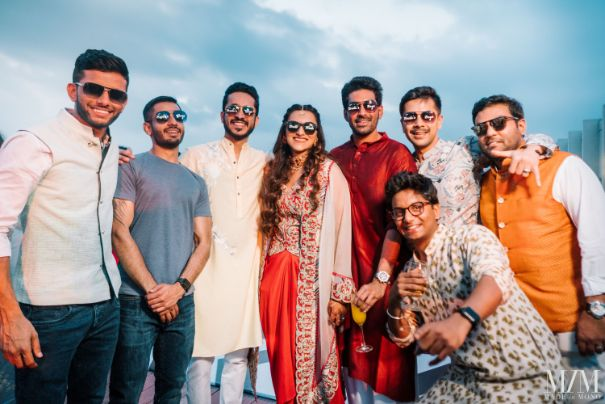 full sqaud photography | indian wedding diaries