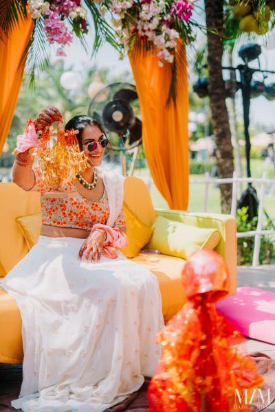 stunning photos from kaleera ceremony | indian wedding