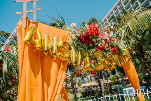 stunning ideas to decor using hashtag at indian weddings