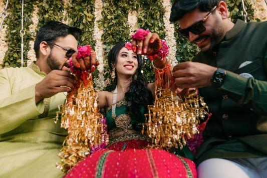 kaleerein ceremony | indian wedding rituals