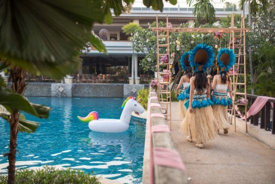 pool side | pool side decor | indian wedding decoration