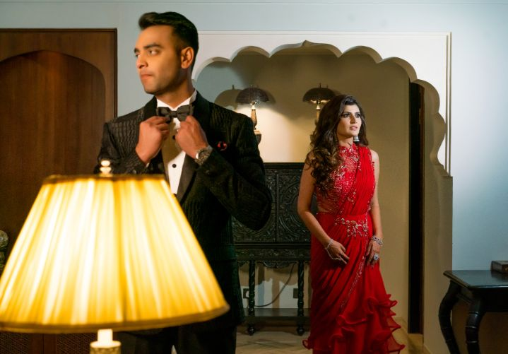 indian couple photo shoot