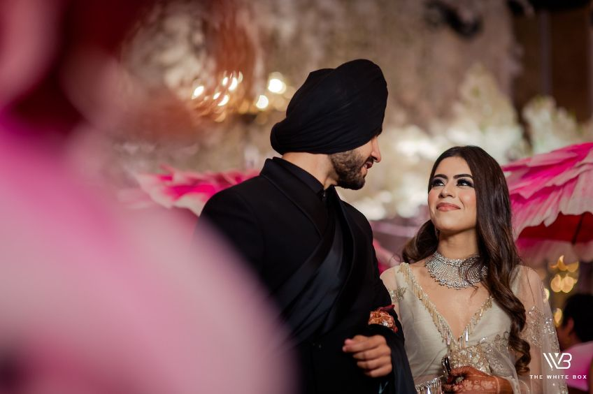 indian couple engagemnt day photography