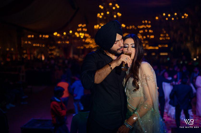 fun photos from Indian wedding celebrations