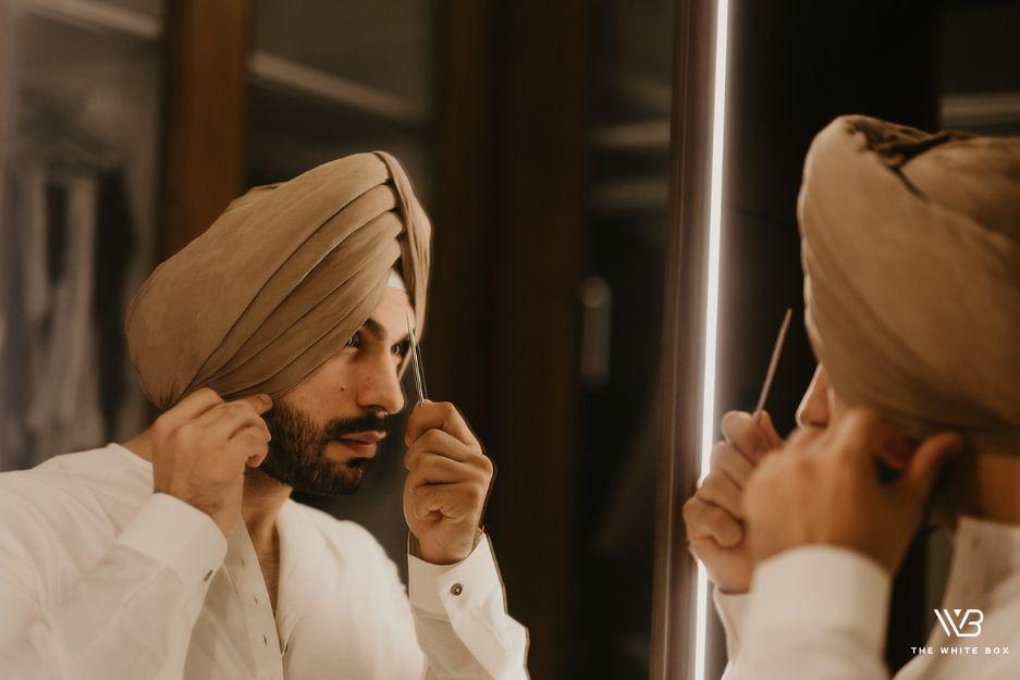 indian groom getting ready photoshoot idaes