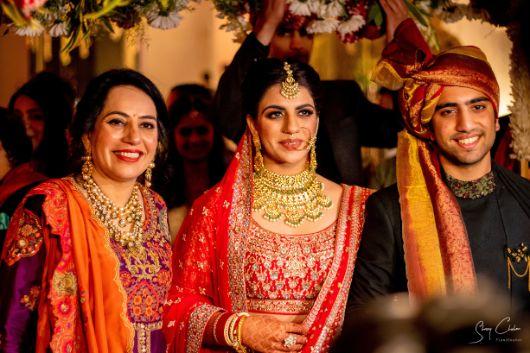 mother of the bride | indian wedding diaries | Anita Dongre Wedding Lehenga