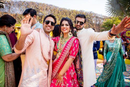 guests at at indian weddings