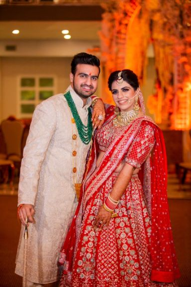 cute couple | grooms outfit ideas | Anita Dongre Wedding Lehenga